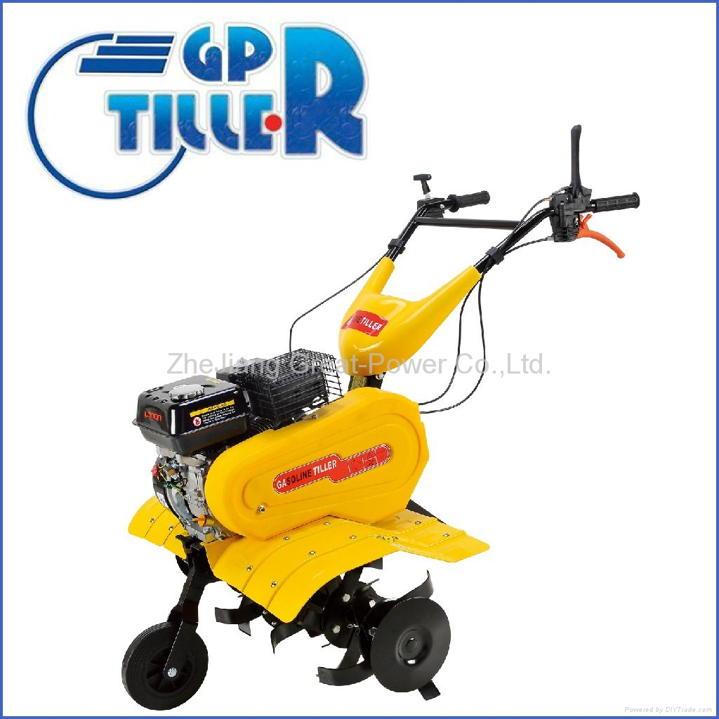 Gasoline tiller GT75R with new mudguard  2