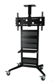 """TV trolley cart up to 75"""" whatapp+65"""