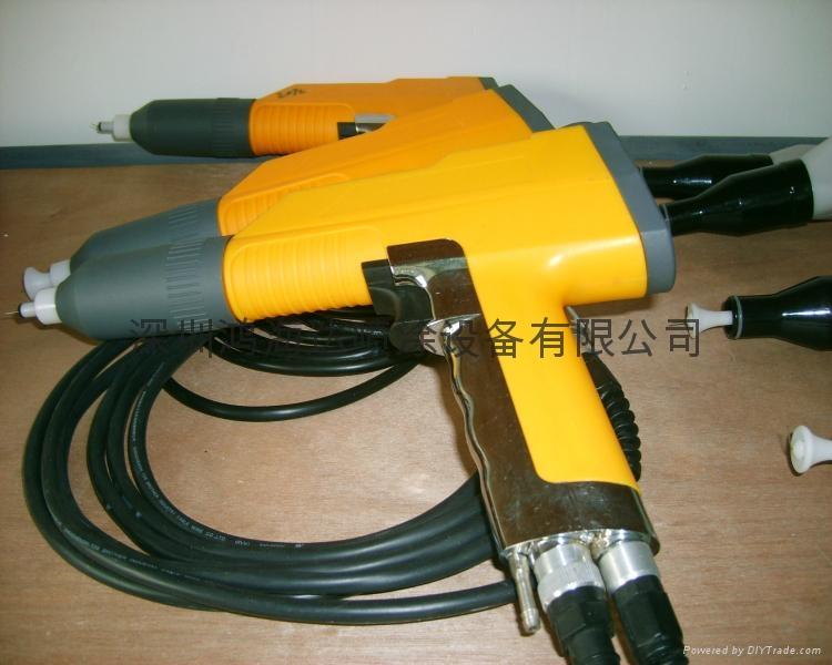 韓國KTT粉體靜電噴槍 3