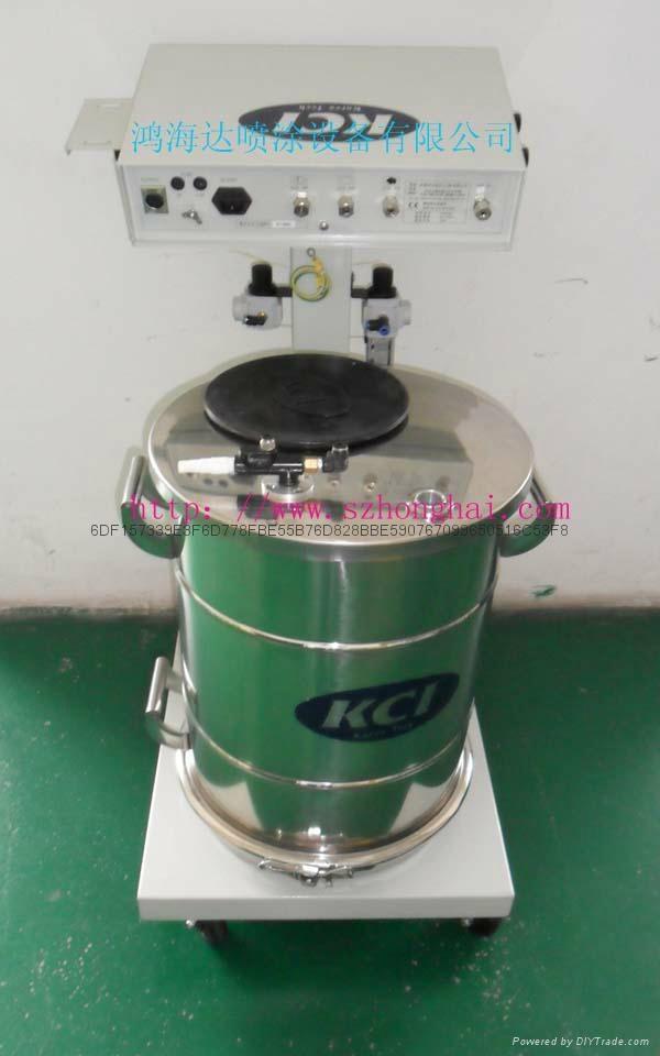 韓國KCI粉末靜電噴槍 1