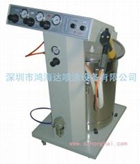 静电喷塑机 粉末静电喷枪 死角凹槽部位上粉率高