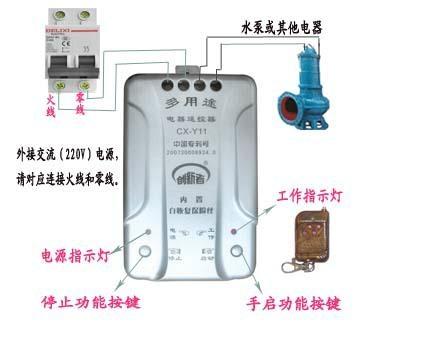 電器遙控控制 無線水位控制 2
