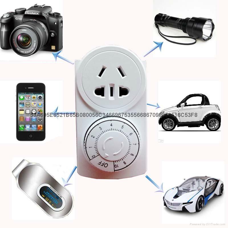 熱銷優質創新者定時器定時插座家電充電定時器電動車定時器批發 1
