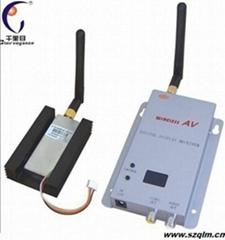 无线模拟视频传输器2.4G8频道1500毫瓦