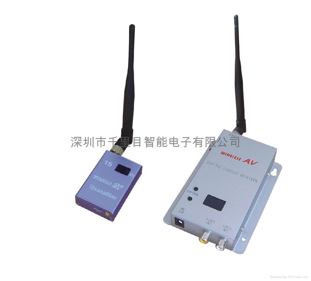 无线模拟视频传输器1.2G800毫瓦 1