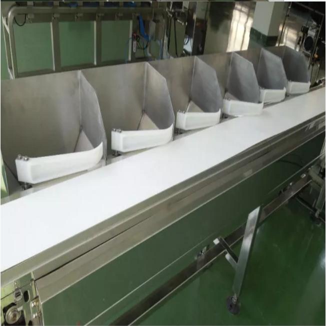 CWM-300 Weight Sorting Machine Auto Weight Grading Machine Conveyor Belt Systems 4