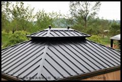 重慶鋁鐵皮定帳篷雙頂雙軌道