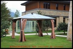 鋁PC板 帶太陽能燈帳篷