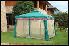 羅馬管雙荷葉邊休閑帳篷