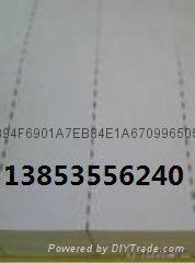 水印膠版紙防偽拉線紙 1