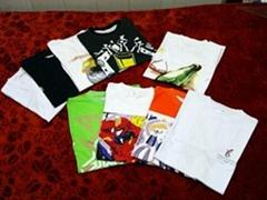 壓縮文化衫 壓縮T-shirt  純棉T卹 壓縮T卹 禮品T卹
