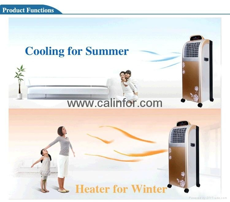 Air Cooler with Heater