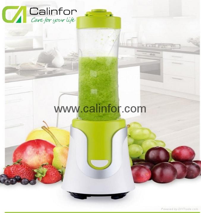 Portable durable shake n take electric juicer blender 1