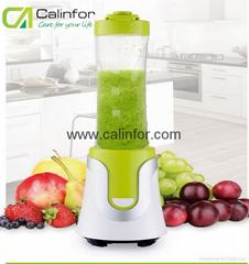 Portable durable shake n take electric juicer blender