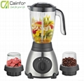 2 in 1 Blender with stainless steel base