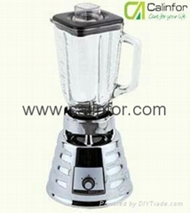 Blender with Metal chromed base