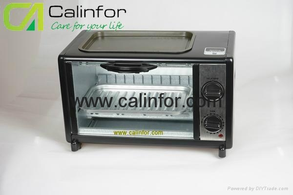 Toaster Oven with BBQ grill GB-0812T 1