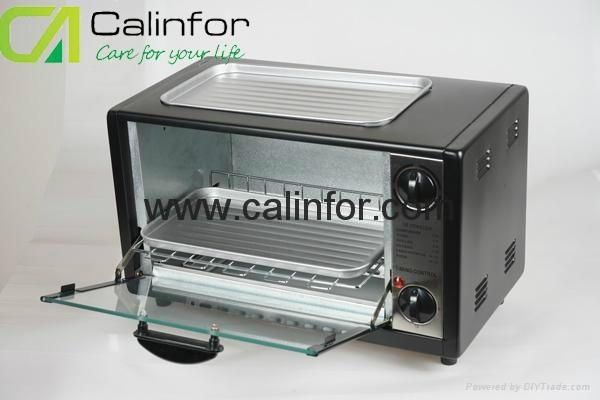 Toaster Oven with BBQ grill GB-0812T 3