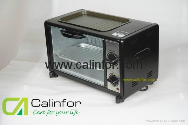 Toaster Oven with BBQ grill GB-0812T 2