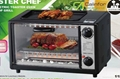 Toaster Oven with BBQ grill 1
