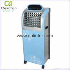 Portable air cooler with ionizer