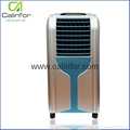 Small low power home air cooler with