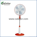 Calinfor 4 blades light stand fan with remote control 2