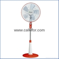 Calinfor 4 blades light stand fan with remote control 3