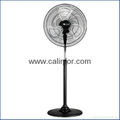 Calinfor 4 blades light stand fan with remote control 4