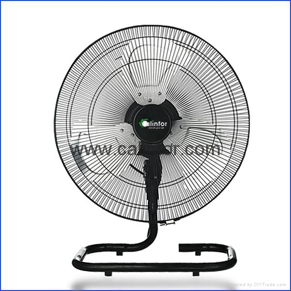 Calinfor 4 blades light stand fan with remote control 5