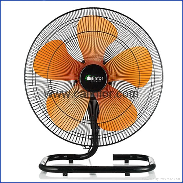 Calinfor 4 blades light stand fan with remote control 6