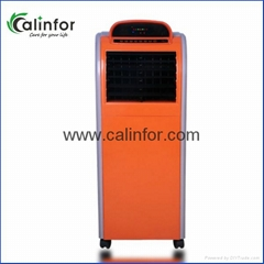 Low power ionizer air cooler for home
