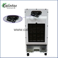 Special golden mix blue color small air cooler for home