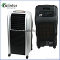 Calinfor black low power soft wind air cooler for home
