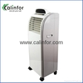 Pearl White portable strong wind air cooler with purifier