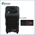 Low power home use air cooler with ionizer