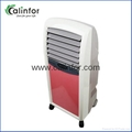 Cute Pink color quiet commercial air cooler with strong wind