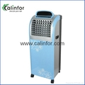 Portable air cooler with LED display