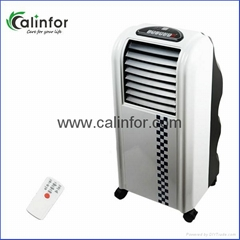 White color small air cooler with mist
