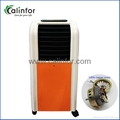 Household Orange color small strong wind air cooler