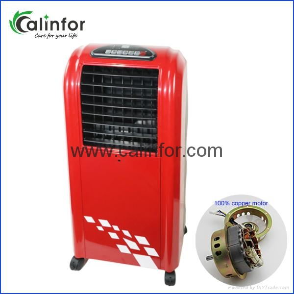 2017 Latest color low power air cooler/ air purifier 4