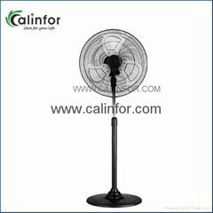 Calinfor commercial ABS & metal stand fan with strong wind