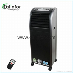 Portable household strong wind air cooler without water