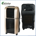Golden portable 100W household air cooling fan with strong wind