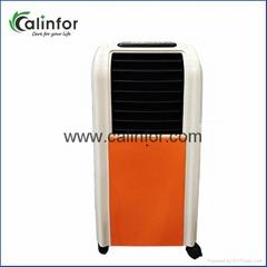 Evaporative air cooler w