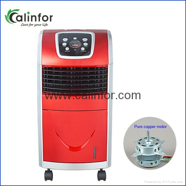 Mini Led Display Anion Air Cooler With Heater And