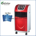 Mini LED display anion air cooler with heater and humidifier