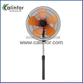 Calinfor height ajustment 18 inch stand fan / industrial stand fan