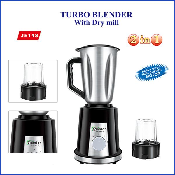 Calinfor factory portable blender with stainless steel jar 4