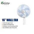 "Foshan Calinfor factory durable strong wind 16"" wall fan"